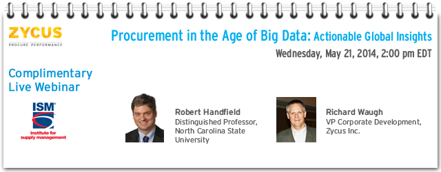 Procurement in the Age of Big Data:  Actionable Global Insights