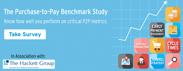 The Purchase to Pay Benchmark Study