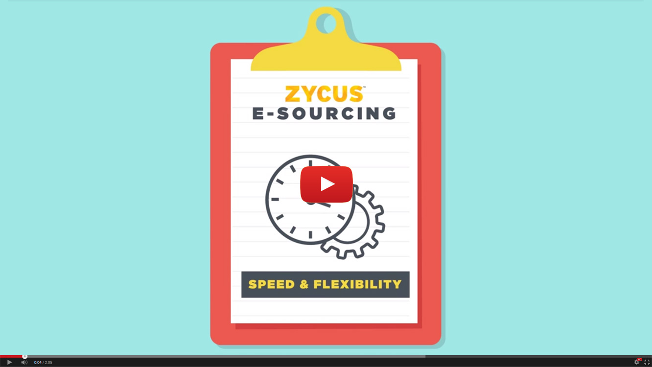 Zycus eSourcing Overview