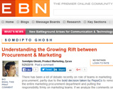 Understanding the Growing Rift between Procurement & Marketing