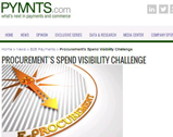 pymnts.com: Procurement's Spend Visibility Challenge