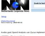 Avebe gaat Spend Analysis van Zycus implementeren