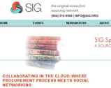 SIG Blog: Collaborating in the Cloud: Where Procurement Process Meets Social Networking