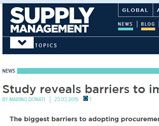 Study reveals barriers to implementing e-procurement