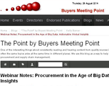 My Purchasing Center: Procurement in the Age of Big Data Challenges and Opportunities