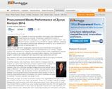 My Purchasing Center: Procurement Meets Performance at Zycus Horizon 2014