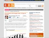 EBN Online: Procurement in the Supply Chain: 10 Keys to Success