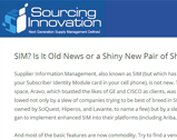 Sourcing Innovation: SIM? Is It Old News or a Shiny New Pair of Shoes? Part I