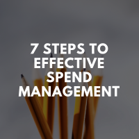 7 Steps to Effective Spend Management