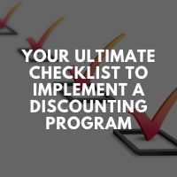 Your Ultimate Checklist To Implement A Discounting Program