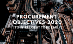 Procurement Objectives 2020: It's Intelligent to Be Early!