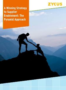 A Winning Strategy to Supplier Enablement: The Pyramid Approach