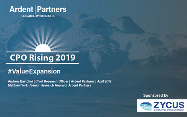 Ardent Partners' CPO Rising 2019 Report: #ValueExpansion