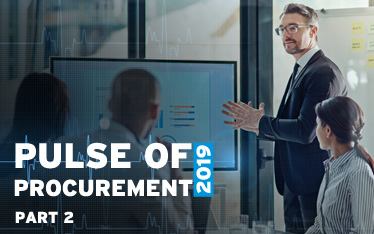 Pulse of Procurement 2019 - Part 2