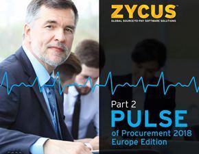 Pulse of Procurement Europe 2018 – Part 2