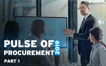 Pulse of Procurement 2019 - Part 1
