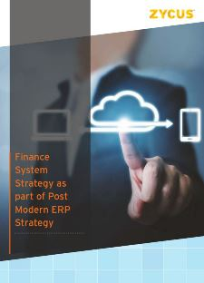 Finance System Strategy as part of Post Modern ERP Strategy