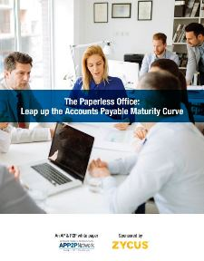 The Paperless Office - Leap up the Accounts Payable Maturity Curve