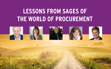 Lessons from Sages of the world of Procurement