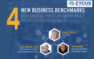 4 New Business Benchmarks For Digital Procurement In a Post- COVID-19 World!