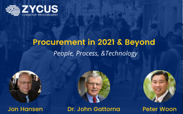 Procurement in 2021 & Beyond : People, Process, and Technology