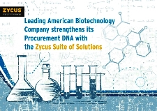 Leading American Biotechnology Company employs Zycus Suite of Solutions