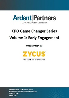 CPO Game Changer Series Volume 1: Early Engagement
