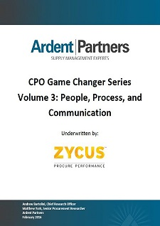 CPO Game Changer Series Volume 3 - People, Process & Communication