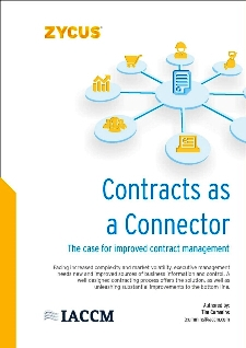 Contracts as a Connector - The case for improved contract management