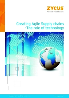 Creating Agile Supply chains -The role of technology