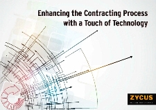 Enhancing the Contracting Process with a Touch of technology