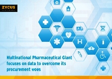 Multinational Pharmaceutical Giant focuses on data to overcome its procurement woes