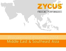 Procurement Priorities 2014 Middle East & Southeast Asia