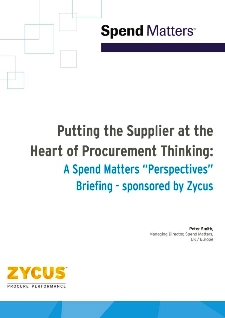 Putting the Supplier at the Heart of Procurement Thinking
