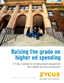 Raising the grade on higher ed spending: A 7-step roadmap for bringing spend management into a higher learning environment