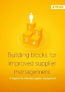 Building Blocks for Improved Supplier Management
