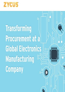 Transforming Procurement at a Global Electronics Manufacturing Company