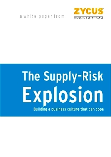 The Supply Risk Explosion - Building a business culture that can cope