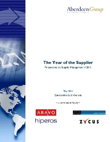 The year of the Supplier: Perspectives on Supplier Management