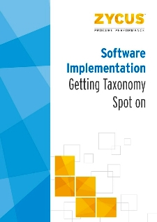 Software Implementation - Getting Taxonomy Spot On