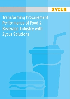 Transforming Procurement Performance of Food & Beverage Industry with Zycus Solutions