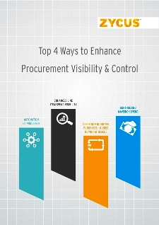 Top 4 Ways to Enhance Procurement Visibility & Control