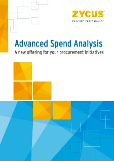 Advanced Spend Analysis: A new offering for your procurement initiatives