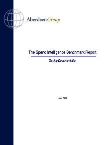 Aberdeen's Spend Intelligence Benchmark Report 2006