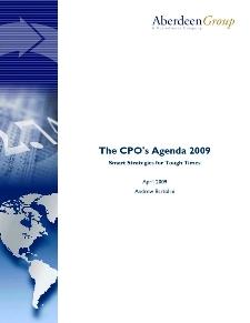 The CPO's Agenda 2009: Smart Strategies for Tough Times