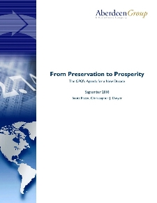 From Preservation to Prosperity: The CPO's agenda for a new decade