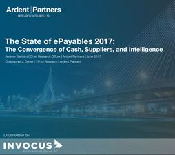 The State of ePayables: The Convergence of Cash, Suppliers and Intelligence