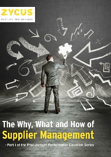 The Why, What And How Of Supplier Management