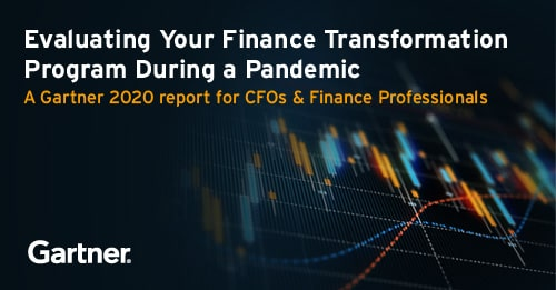 Evaluating Your Finance Transformation Program During a Pandemic