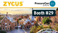 Zycus at ProcureCon Europe 2019